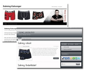 Salming underkläder, Salming Kalsonger